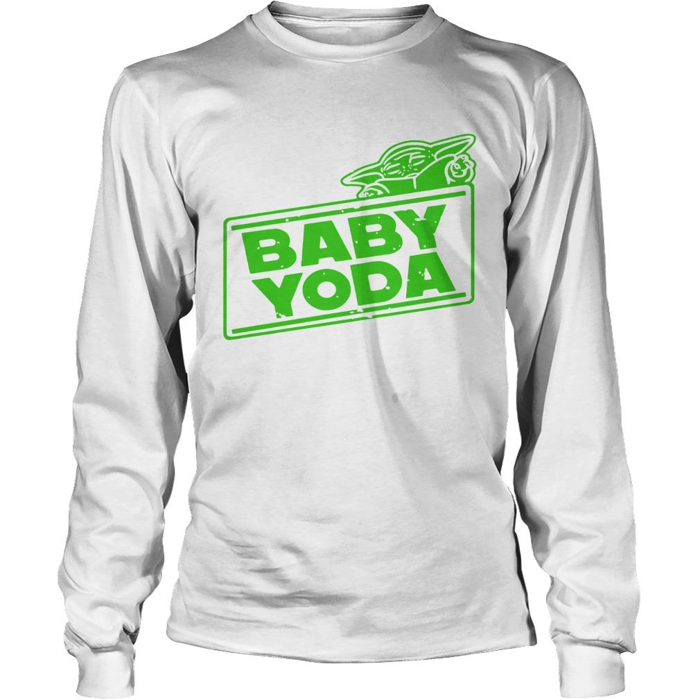 Baby YodaThe Mandalorian  LongSleeve