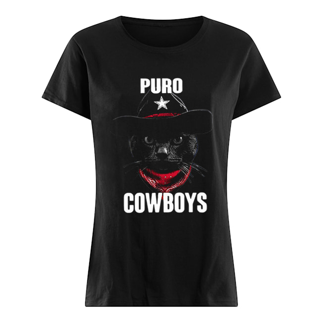 Black Cat Puro Cowboys  Classic Women's T-shirt