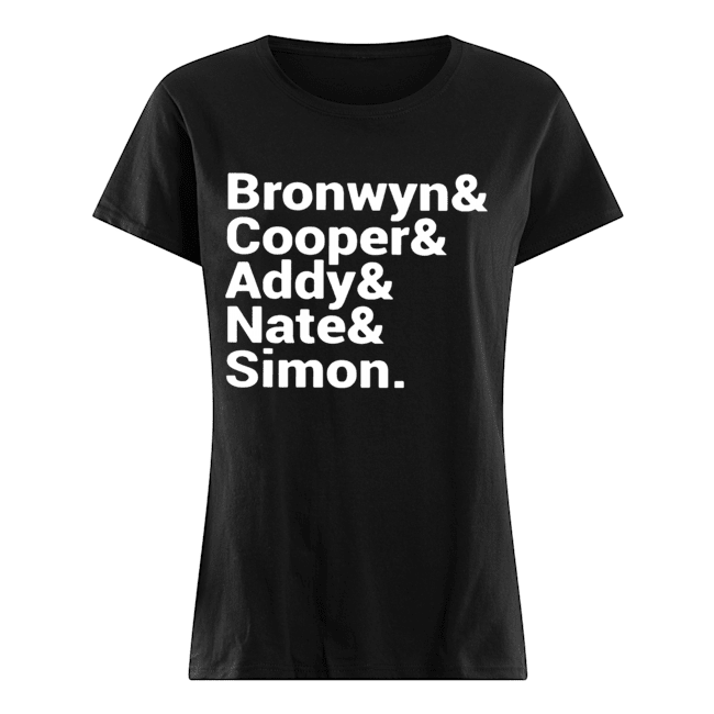 Bronwyn Cooper Addy Nate Simon  Classic Women's T-shirt