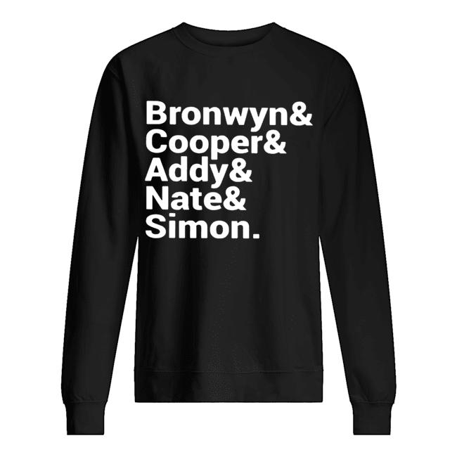 Bronwyn Cooper Addy Nate Simon  Unisex Sweatshirt