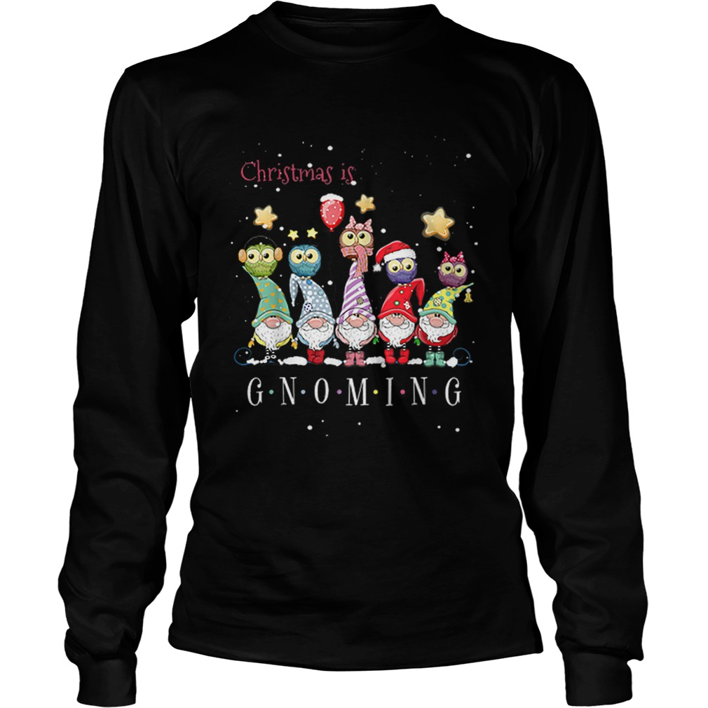 Christmas Is Gnoming Gnome Tomte Merry Christmas  LongSleeve