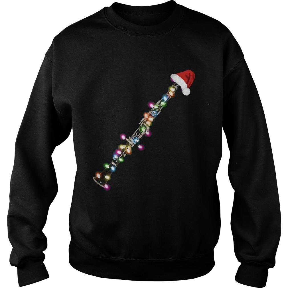 Clarinet Santa Christmas  Sweatshirt