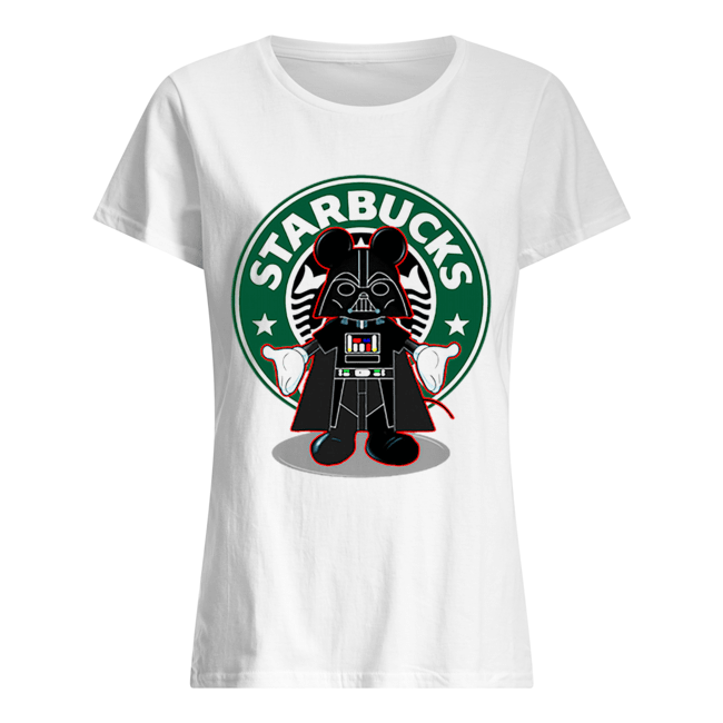Darth vader Mickey Starbucks  Classic Women's T-shirt