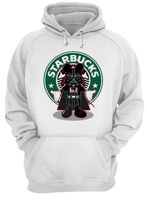 Darth vader Mickey Starbucks  Unisex Hoodie