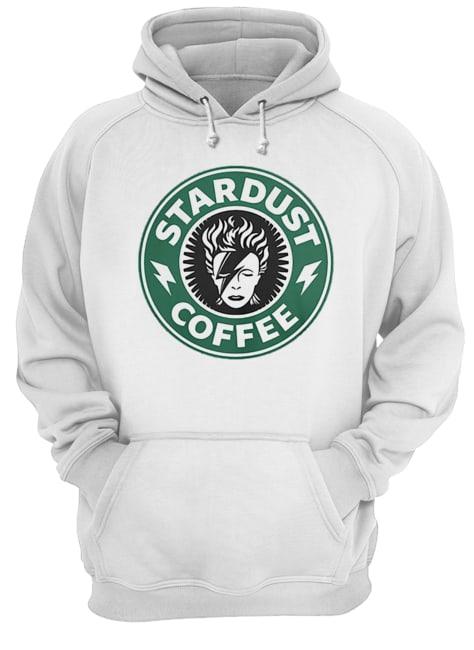 David Bowie Stardust coffee Starbucks  Unisex Hoodie