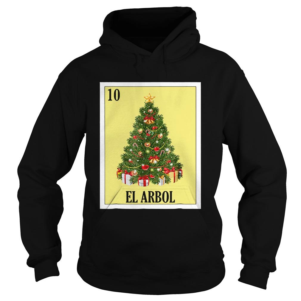 El Arbol Christmas Navidad  Hoodie