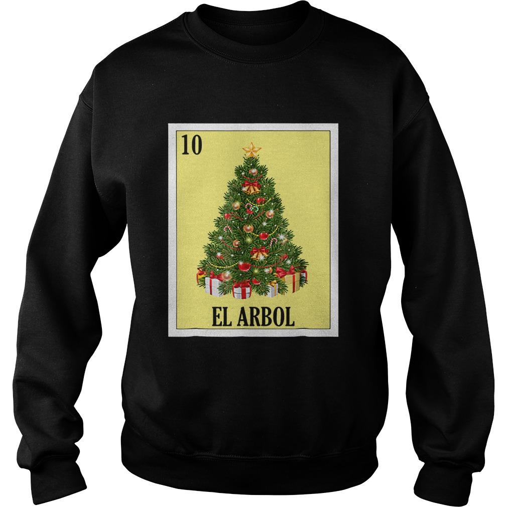 El Arbol Christmas Navidad  Sweatshirt