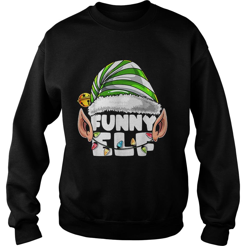 Elf Matching Family Christmas Elf Costume Gift Women  Sweatshirt