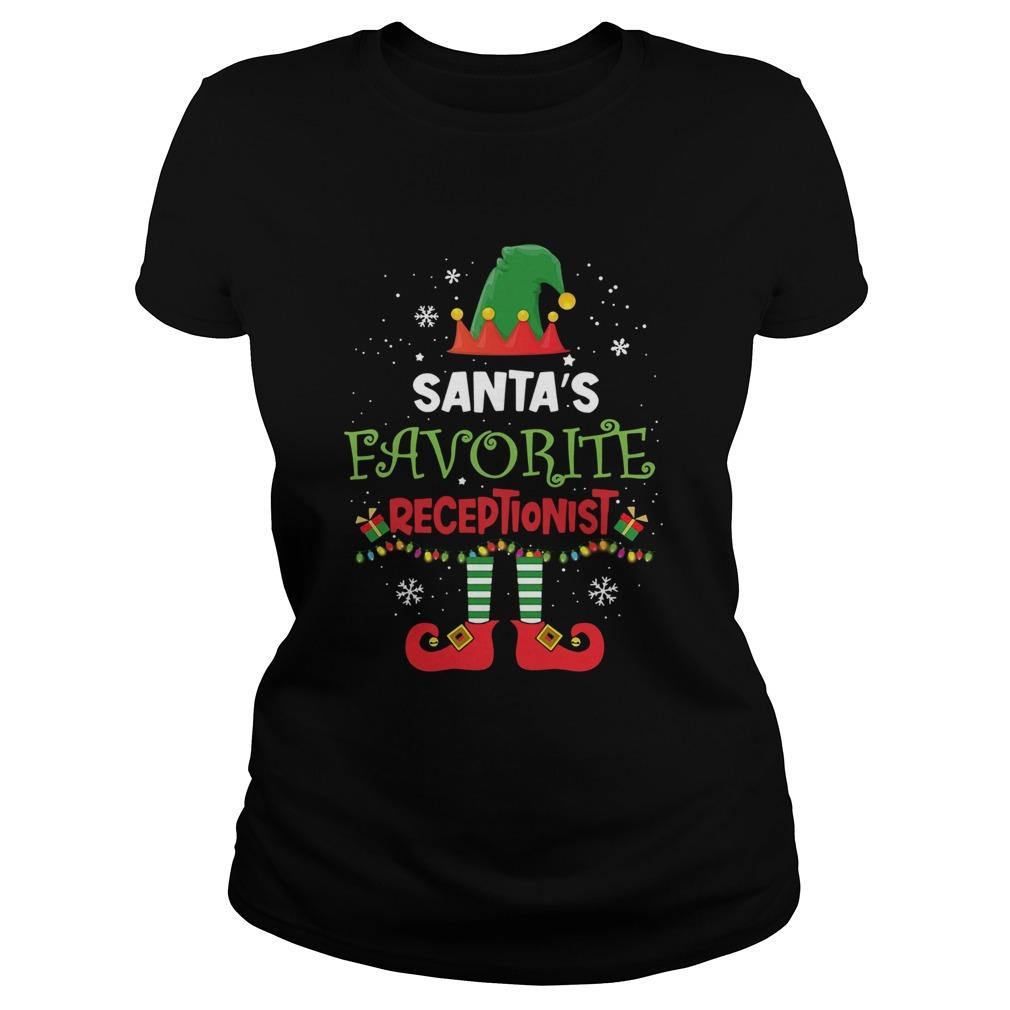 Elf Santas Favorite Receptionist  Classic Ladies