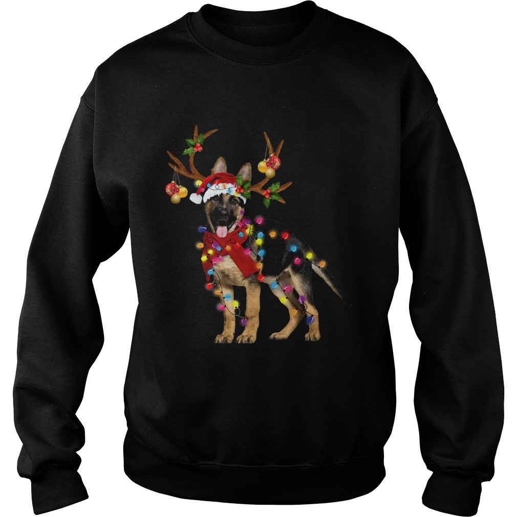 German Shepherd Gorgeous Reindeer Christmas  Sweatshirt
