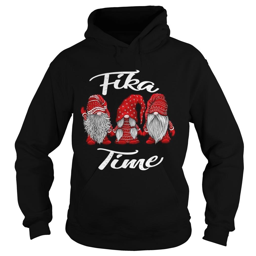 Gnomies Santa fika time Christmas  Hoodie