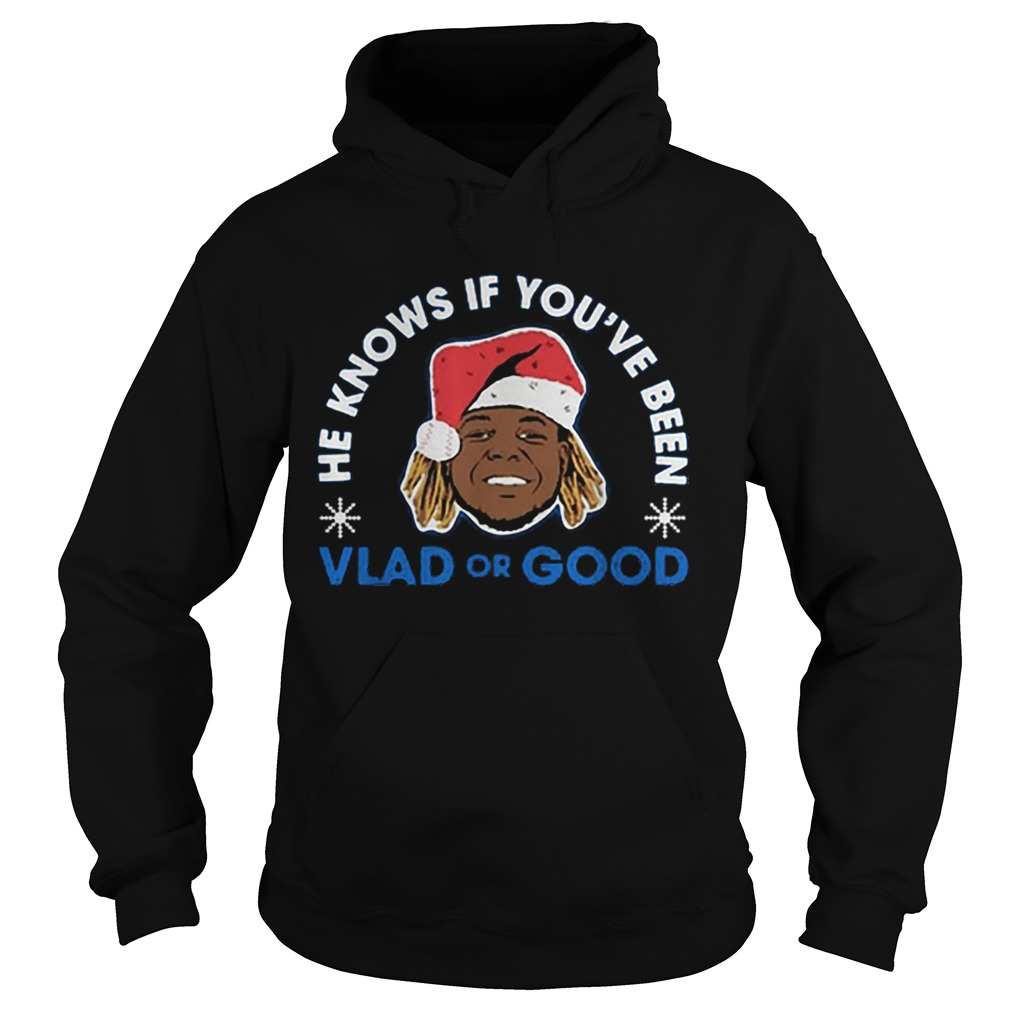 He knows if youve been Vlad or Good Christmas  Hoodie