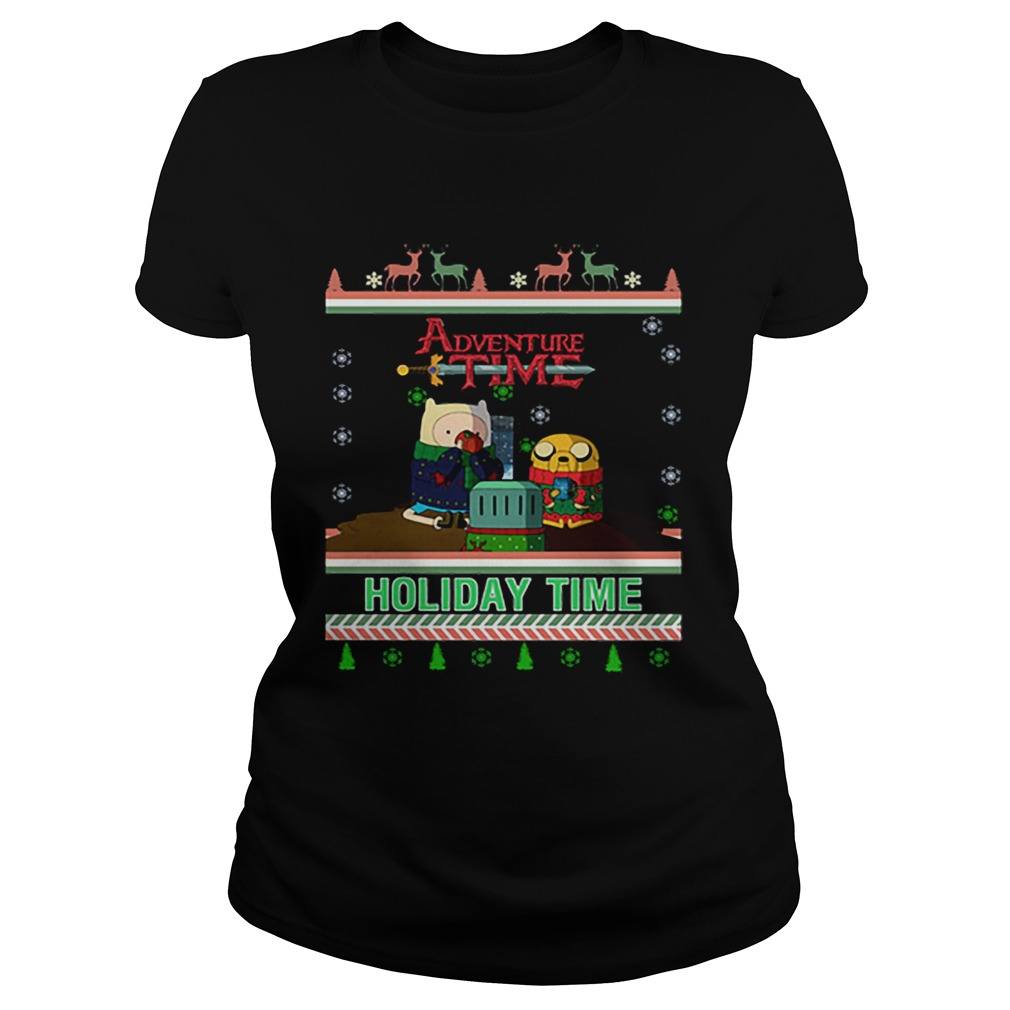 Holiday Time Adventure Time Christmas  Classic Ladies