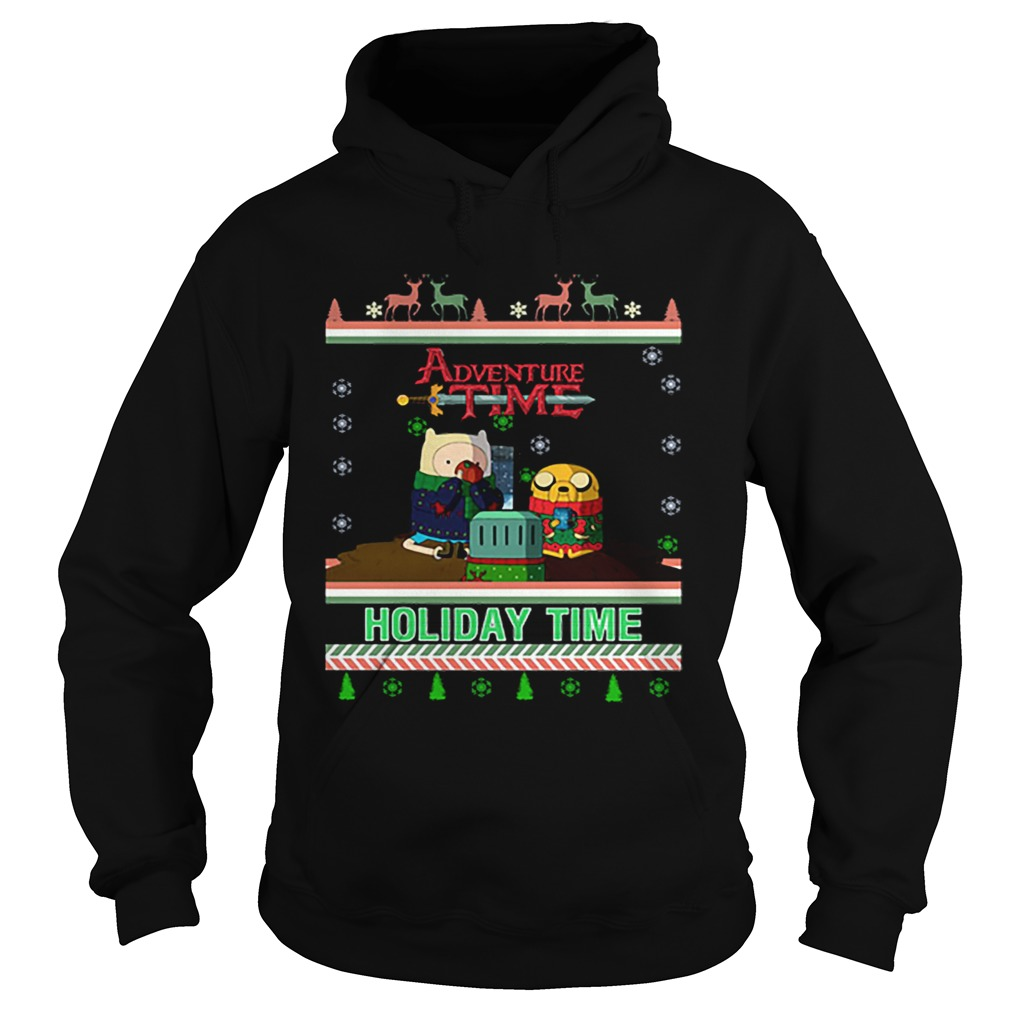 Holiday Time Adventure Time Christmas  Hoodie