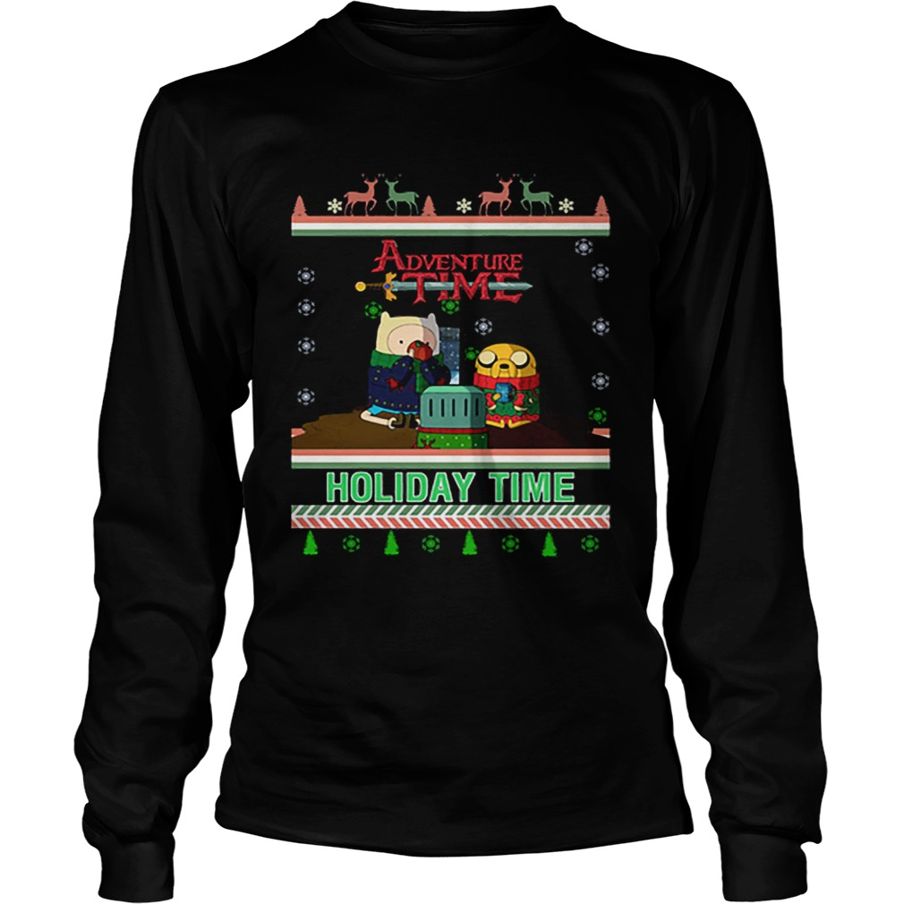 Holiday Time Adventure Time Christmas  LongSleeve
