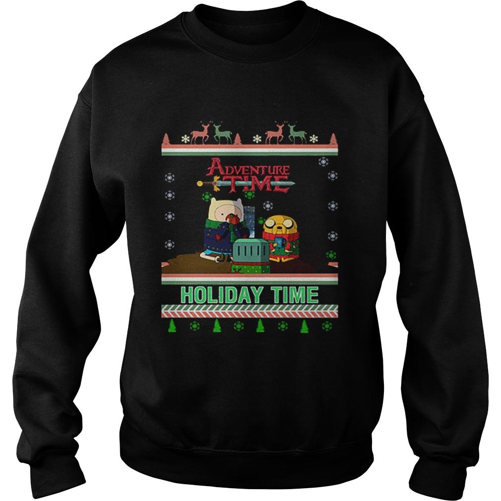 Holiday Time Adventure Time Christmas  Sweatshirt