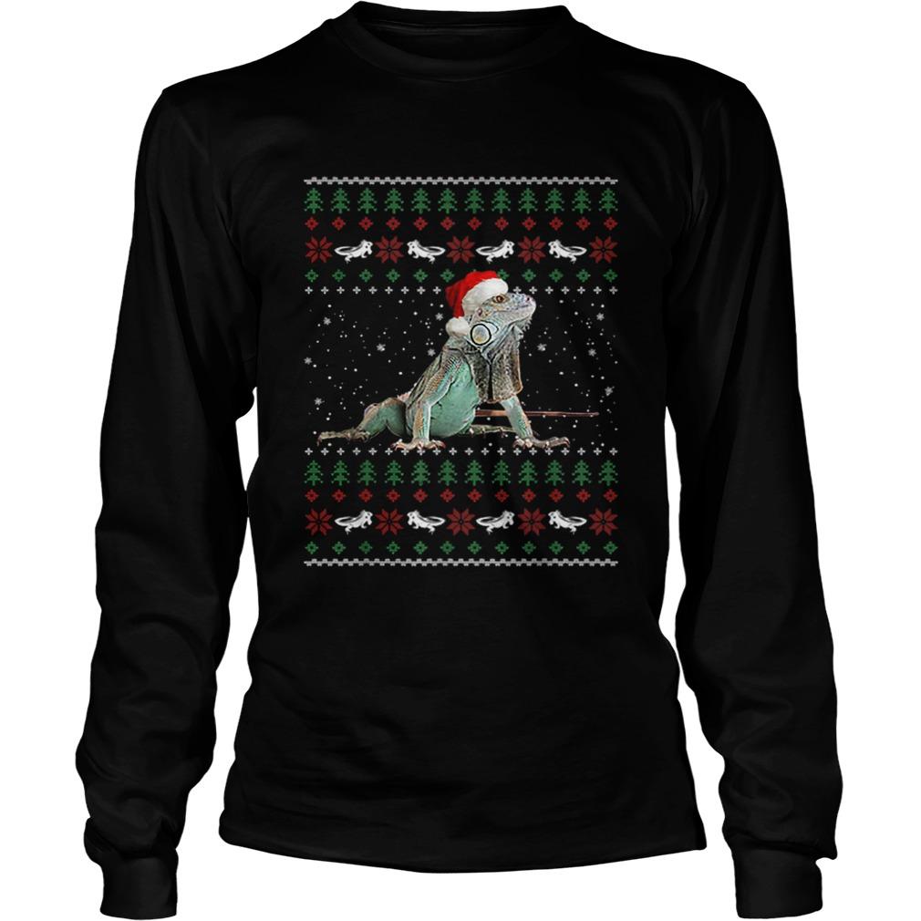 Iguanas Ugly Christmas  LongSleeve