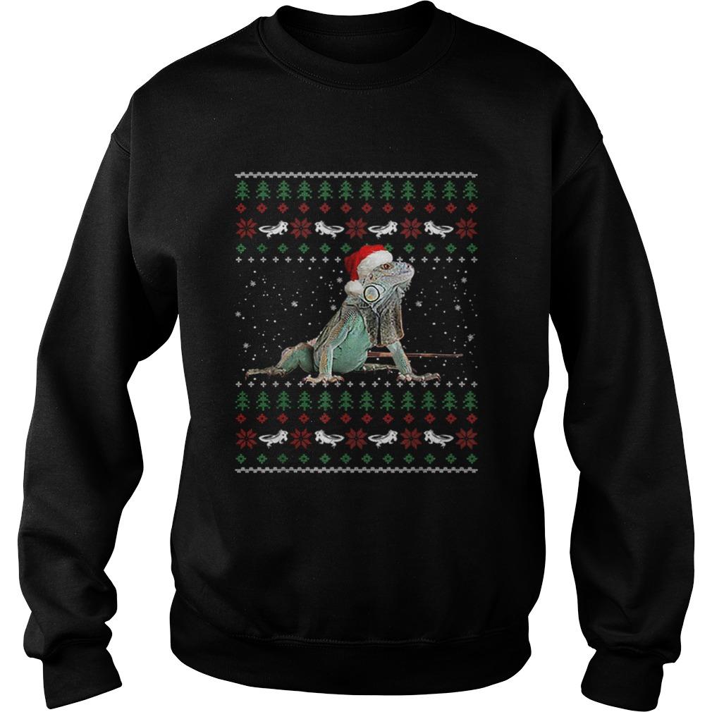 Iguanas Ugly Christmas  Sweatshirt