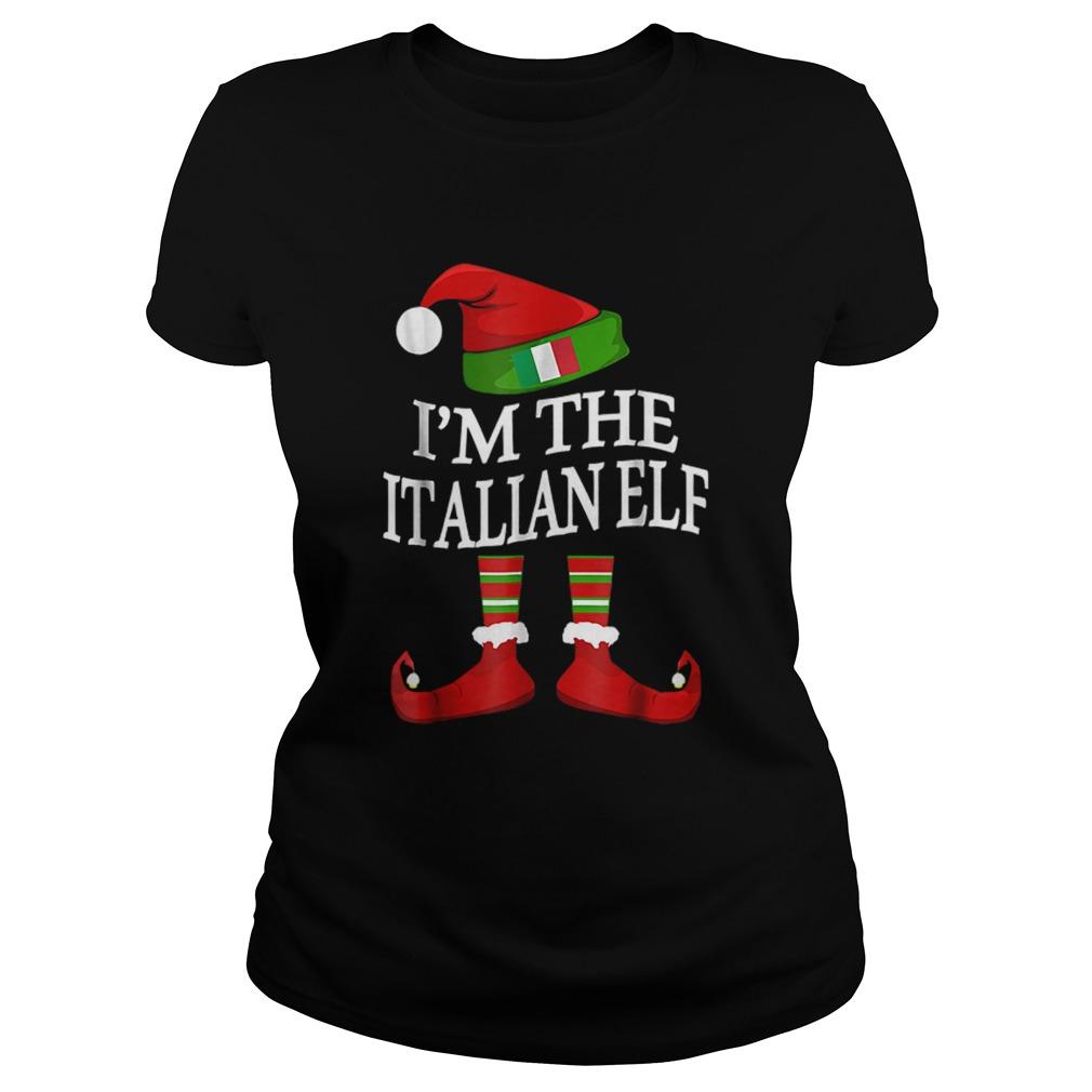 Im The Italian Elf Matching Group Family Christmas  Classic Ladies