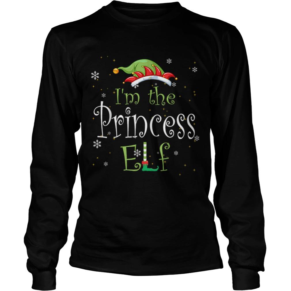 Im The Princess Elf Matching Family Group Christmas  LongSleeve
