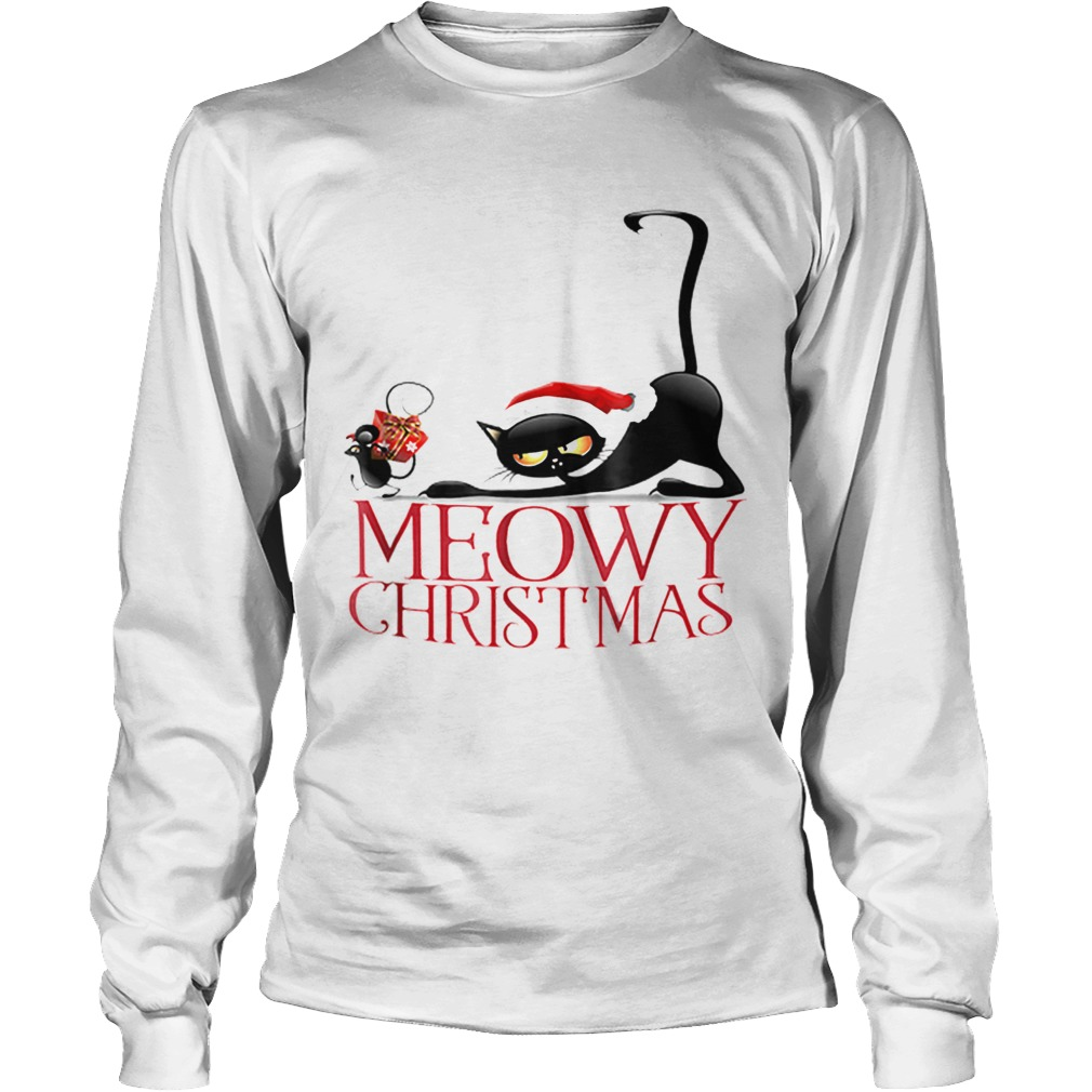 Its my funny Christmas cat pajamas  LongSleeve