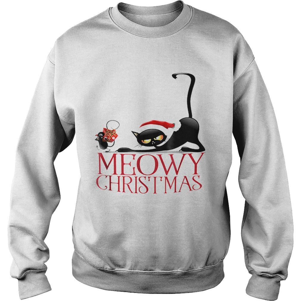 Its my funny Christmas cat pajamas  Sweatshirt
