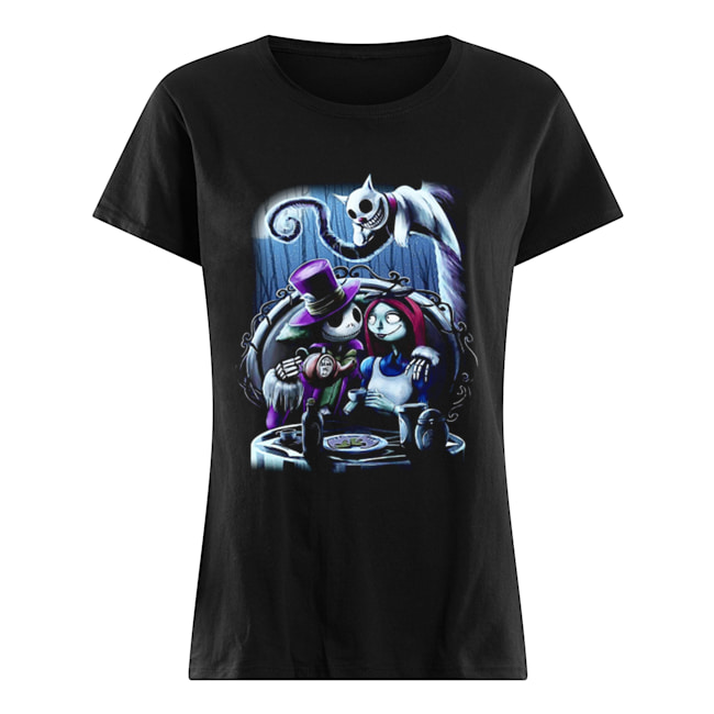 Jack and Sally the nightmare before Christmas  Classic Women's T-shirt