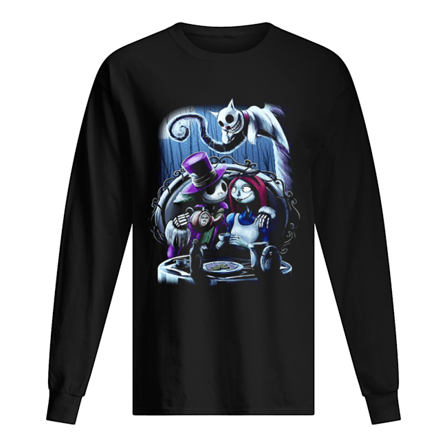 Jack and Sally the nightmare before Christmas  Long Sleeved T-shirt