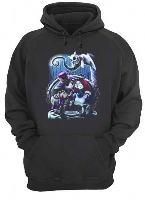Jack and Sally the nightmare before Christmas  Unisex Hoodie