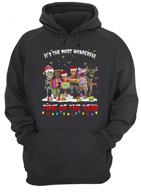 Jeff Dunham characters it's the most wonderful time of the year  Unisex Hoodie