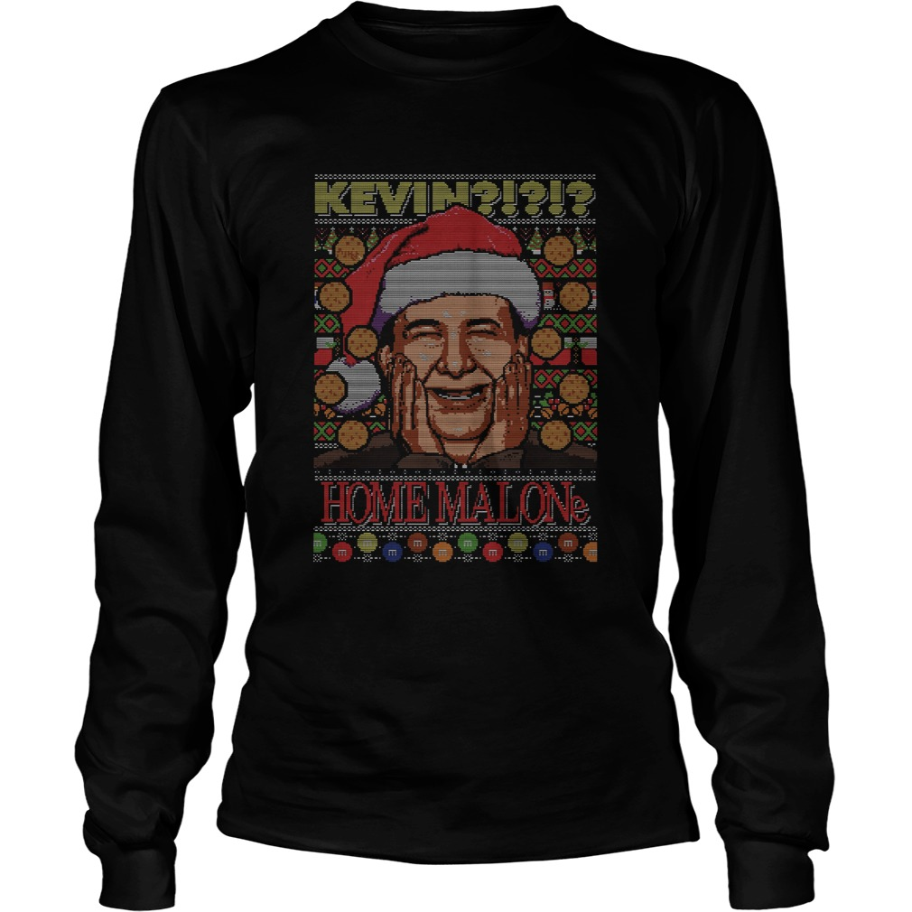 Kevin Home Malone Ugly Christmas  LongSleeve