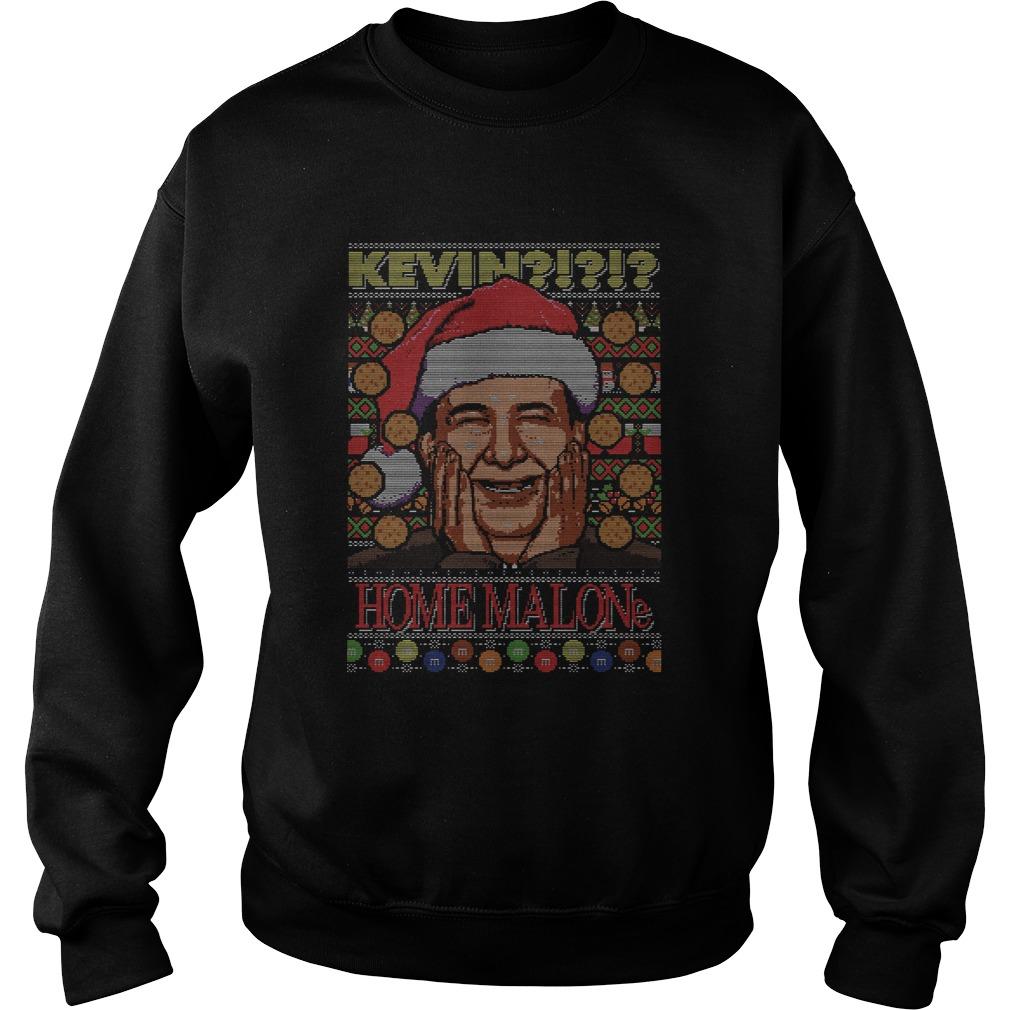 Kevin Home Malone Ugly Christmas  Sweatshirt