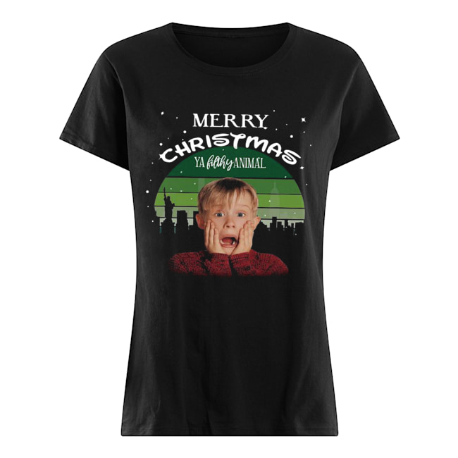 Fresh Merry Christmas Ya Filthy Animal Childrens Long Sleeve T-Shirt for Boys Girls