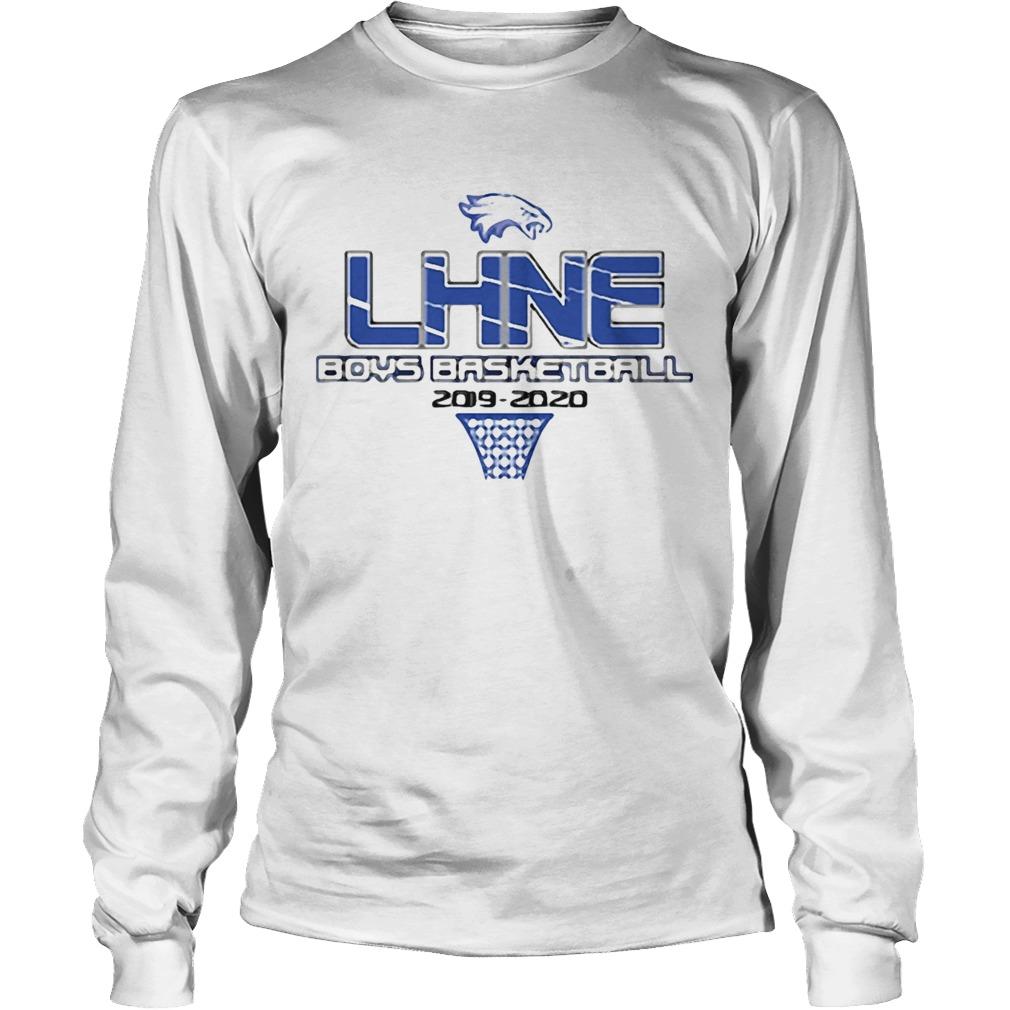 LHNE Boys Philadelphia Eagles Basketball 2019 2020  LongSleeve