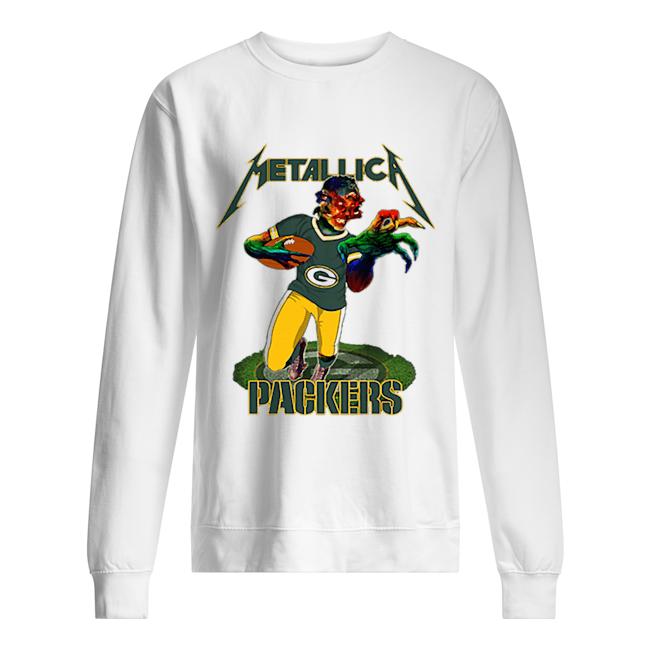 Monster Metallica Green Bay Packers  Unisex Sweatshirt