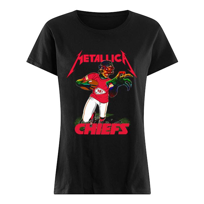 Monster Metallica Kansas City Chiefs  Classic Women's T-shirt