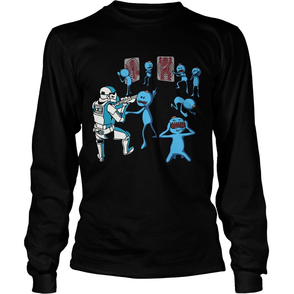 Mr Meeseeks And Stormtrooper Star War  LongSleeve