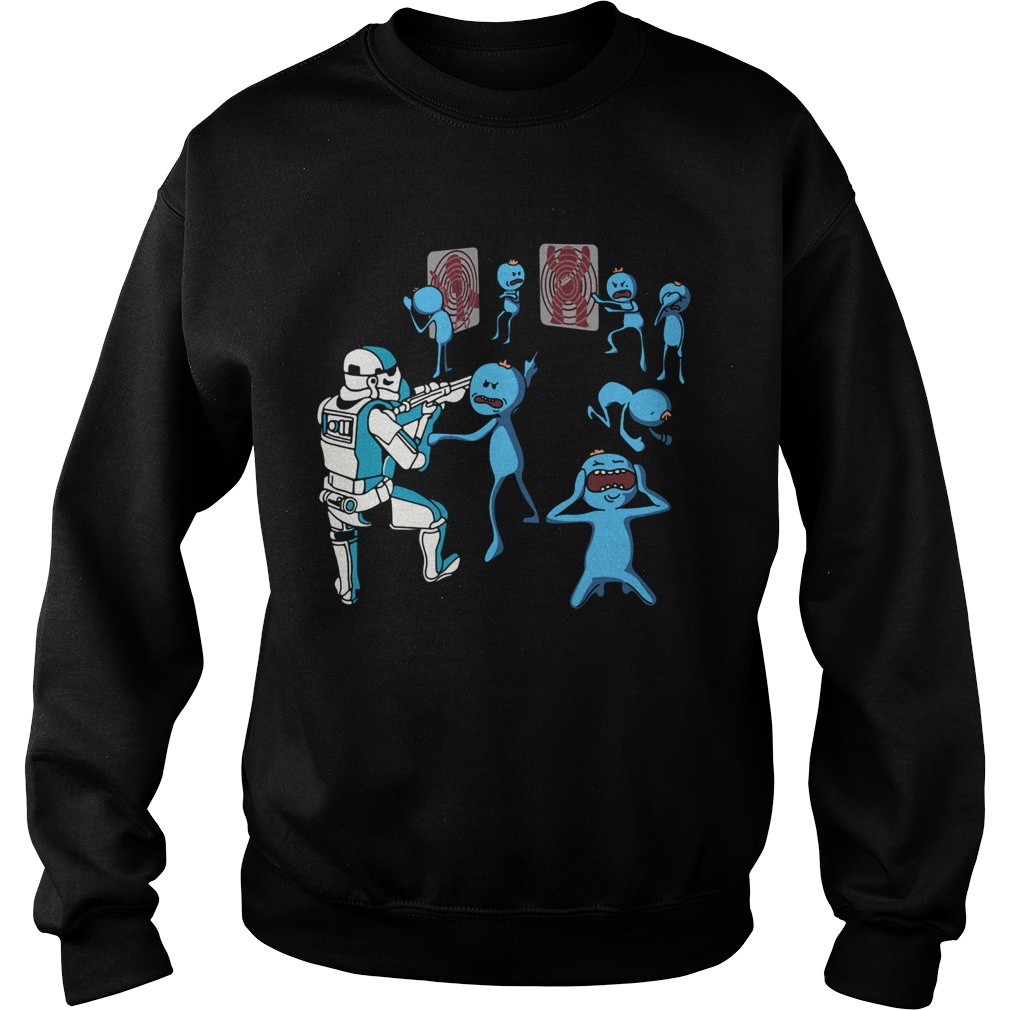 Mr Meeseeks And Stormtrooper Star War  Sweatshirt