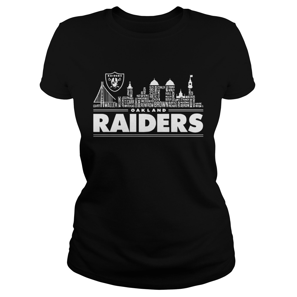 Oakland Raiders Building Players  Classic Ladies