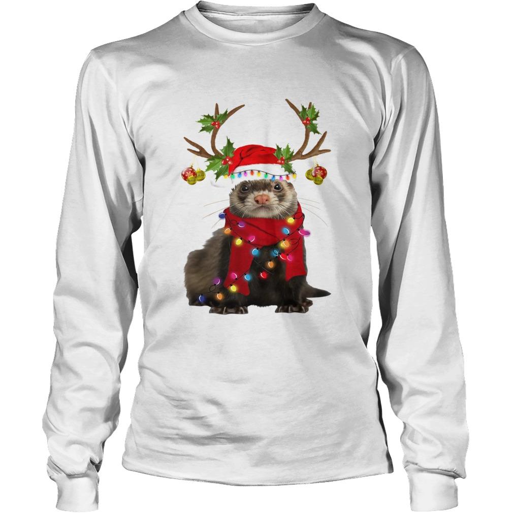 Otter gorgeous reindeer light Christmas  LongSleeve