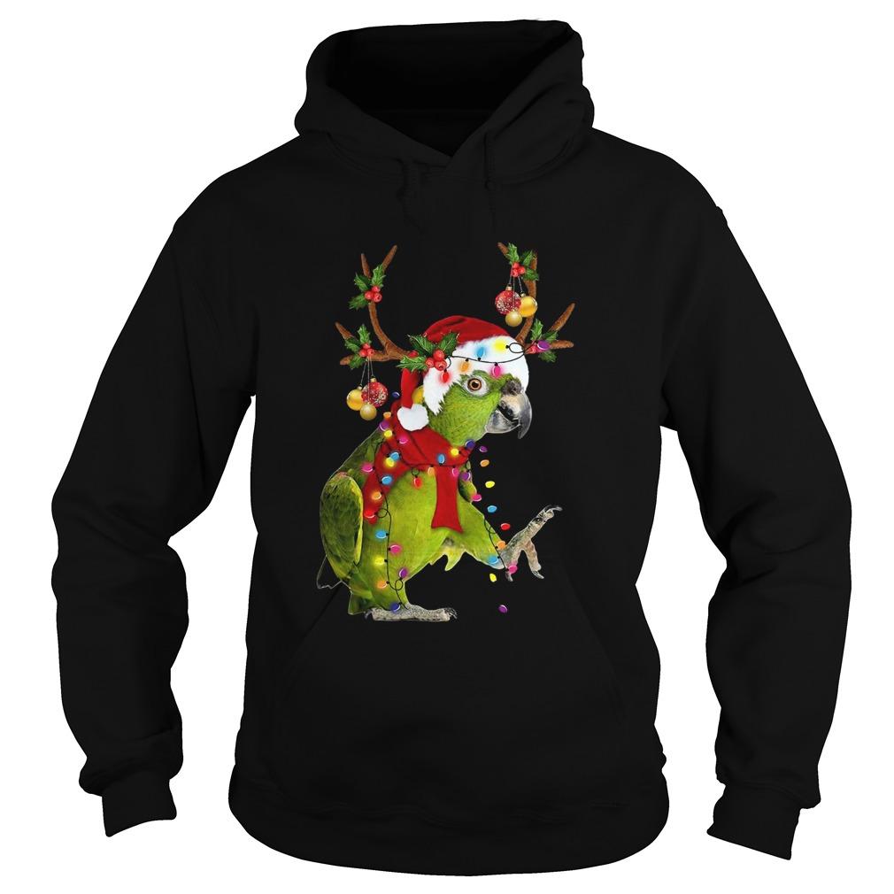 Parrot Gorgeous Reindeer  Hoodie