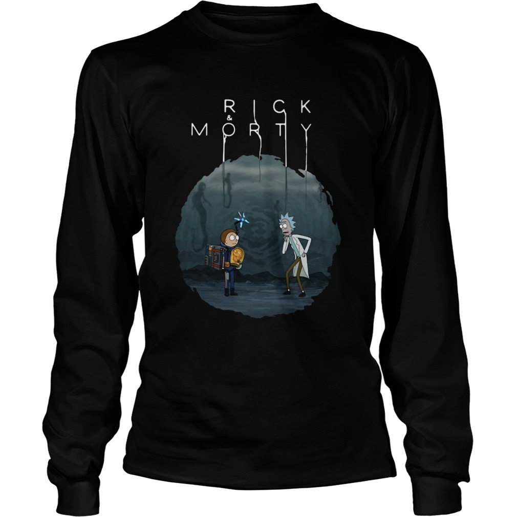 Rick And Morty Mashup Death Stranding  LongSleeve