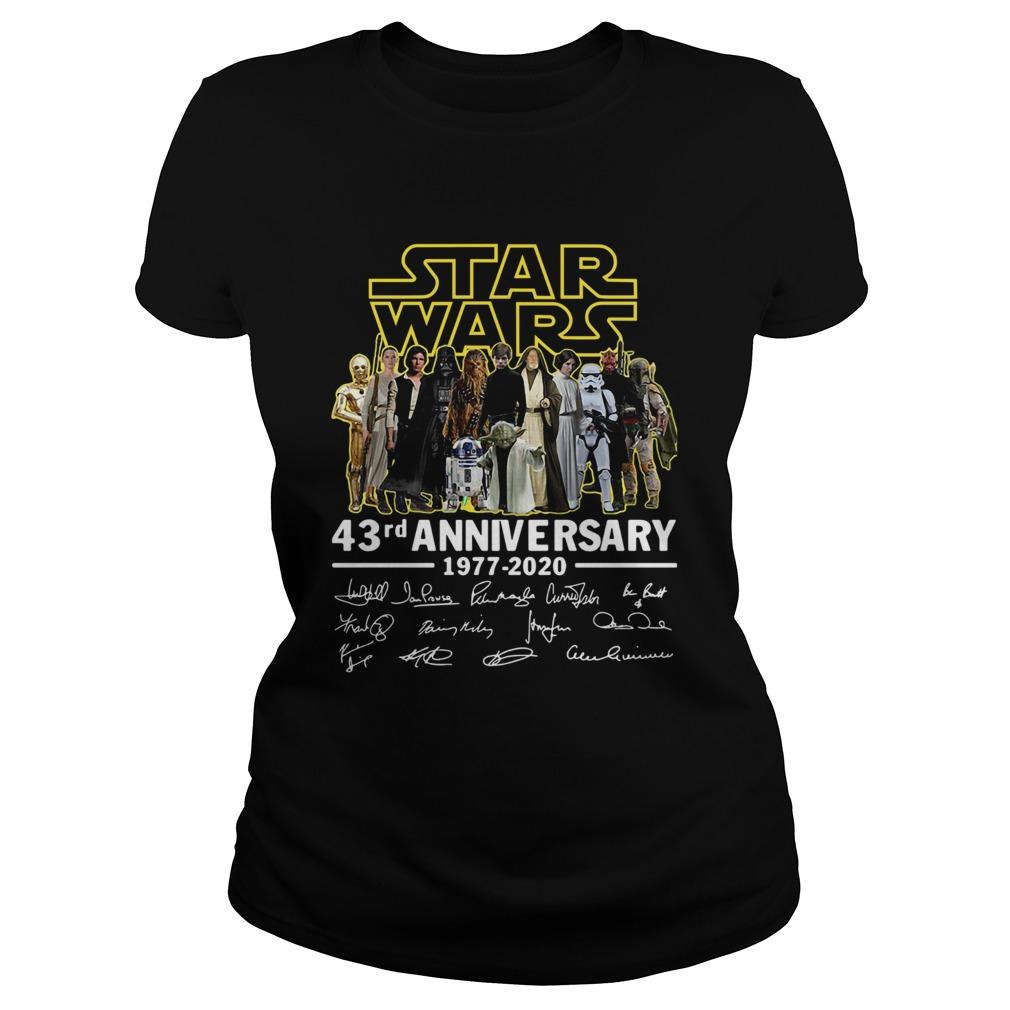 Star Wars 43rd Anniversary 19772020 Signatures  Classic Ladies