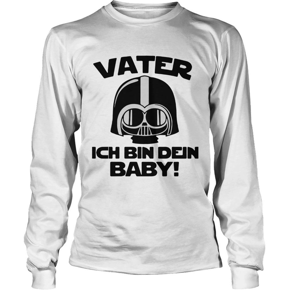 Star Wars Vater Ich Bin Dein Baby  LongSleeve