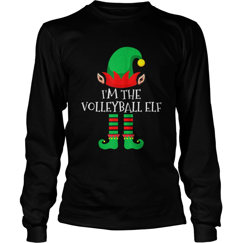 The Volleyball Elf Family Matching Group Christmas  LongSleeve