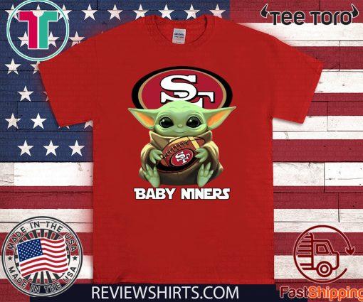 Baby Yoda San Francisco Baby Niners Offcial T-Shirt