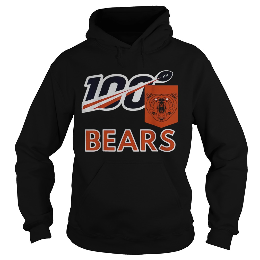 Bears 100th Year inspired Sports  Hoodie