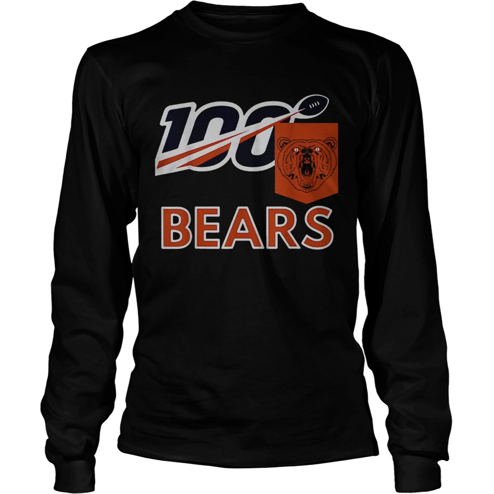 Bears 100th Year inspired Sports  LongSleeve