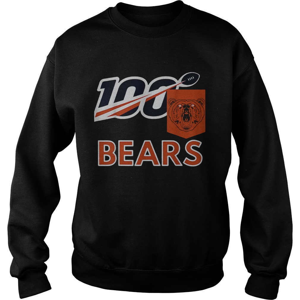 Bears 100th Year inspired Sports  Sweatshirt