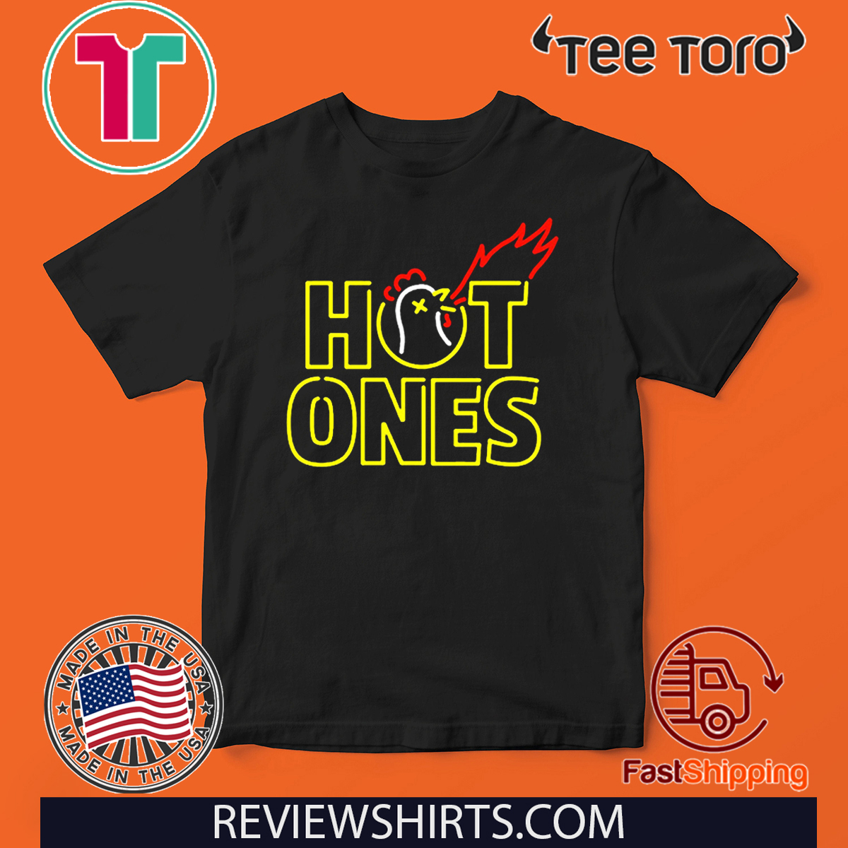 Hot Ones Shirt T-Shirt